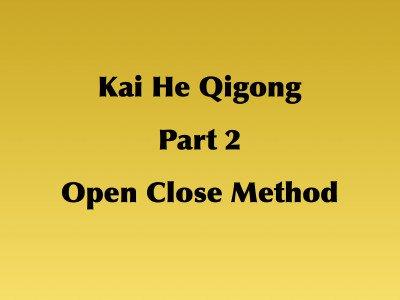 Kai He Qigong